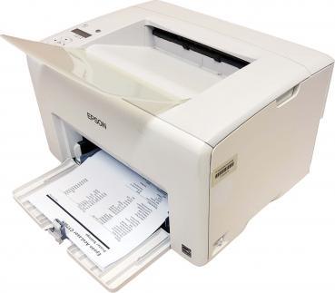 Epson AcuLaser C1750n Farblaserdrucker USB LAN gebraucht - 10.000 gedr. Seiten