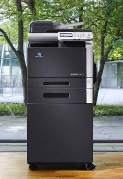 Konica Minolta bizhub C35 gebraucht - erst 12.000 gedr.Seiten