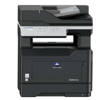 Konica Minolta BIZHUB 3622 SW Laser Multifunktionsdrucker gebraucht - 32.000 gedr.Seiten