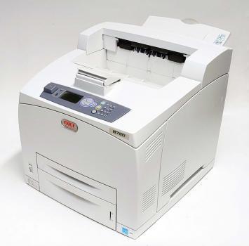 OKI B720 B720n SW Laserdrucker bis DIN A4 gebraucht - 14.100 gedr.Seiten