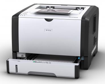 RICOH SP 311DN Laserdrucker s/w gebraucht - 1.150 gedr.Seiten