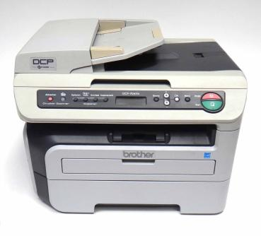 Brother DCP-7045N 3-in-1 MFP Laserdrucker sw gebraucht