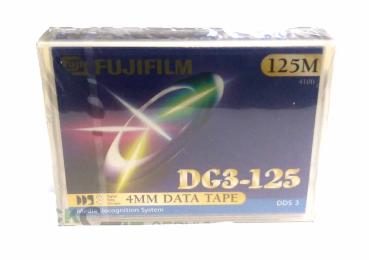 FUJIFILM DG3-125 DDS3 4mm DATA TAPE 125m neu & ovp