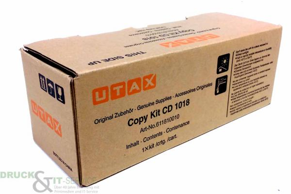 Original Utax 611810010 611810015 Toner Black CD 1018 DC 2018 neu